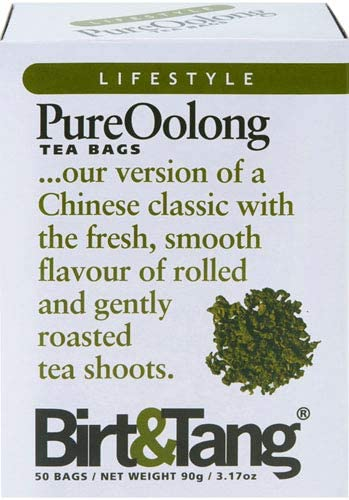 Image of Birt & Tang | Pure Oolong Tea | 1 x 50 bags