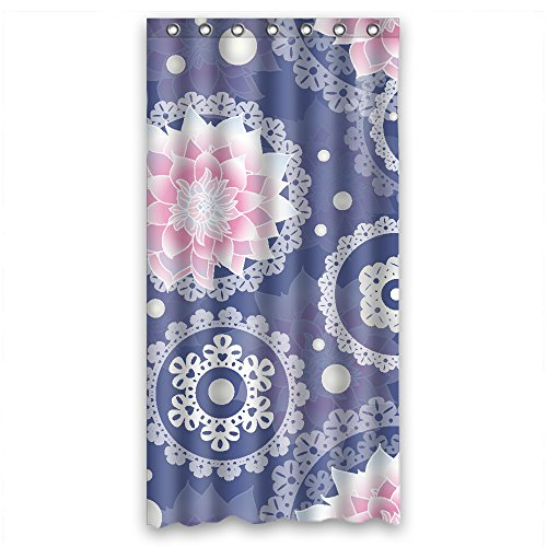Width X Height / 36 X 72 Inches / W H 90 By 180 Cm Flower Christmas Shower Curtains Polyester Fabric Ornament And Gift To Him Kids Kids Boys Birthday Couples. Modern Design -