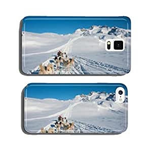 Dog sledding tour in Tasiilaq, Greenland cell phone cover case Samsung S5