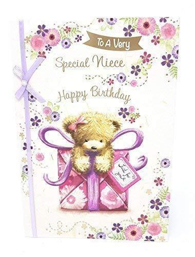 Muy especial sobrina feliz cumpleaños tarjeta de ...