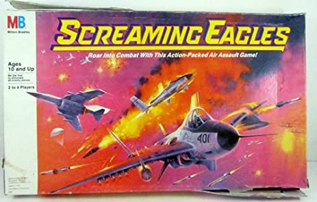 Amazon.com: Screaming Eagles Board Game Air Assault Board Game Top ...