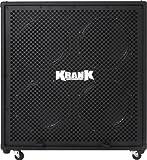 Krank Black Rev 4x12 Speaker Cabinet with Black Grill