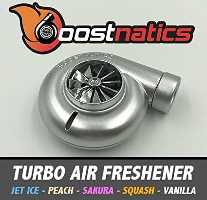 Amazon.es: boostnatics Spinning Turbo ambientador – Peach (plata)