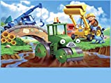 SDore Bob the Builder Edible Birthday Cake Image Topper Frosting Icing 1/4 Sheet