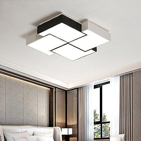 Amazon.com: $Ceiling Lighting Square Ceiling Lamp, Romantic ...