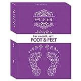 2 Packs Exfoliating Foot Peel Mask - Deep Exfoliation For Feet, Foot Mask for Calluses, Foot Peel Repairing Dead Skin Cells, 1 Box Foot Peel Mask, Baby Foot Peel Booties