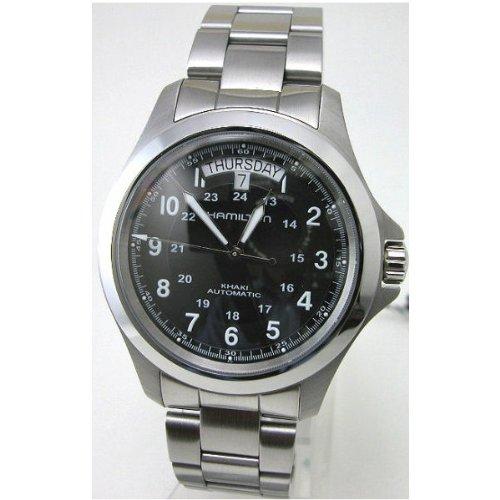 HAMILTON ハミルトン 腕時計 カーキキング デイデイト オートマチック Ref.H64455133 正規品 B009ELP3X0