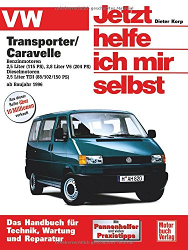 Used, VW Transporter T4 / Caravelle. Jetzt helfe ich mir for sale  Delivered anywhere in USA