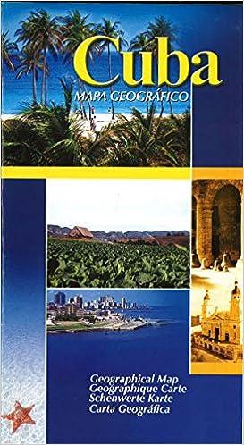 Cuba Mapa Geografico Ediciones Geo 9789597049364 Amazon Com Books