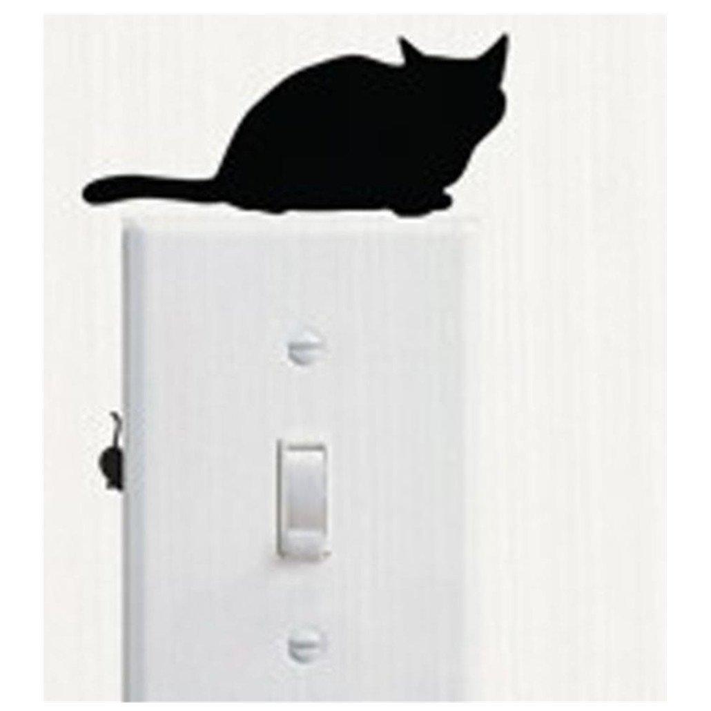 Ouneed® Chambre Autocollants d'Interrupteur une serie d' Chat (F) CFF60613416