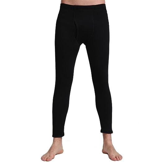 a5210ec02b63d Liang Rou Men's Fleece Lined Thick Thermal Pant at Amazon Men's ...