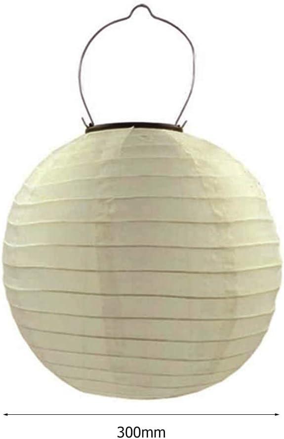 decoraci/ón del hogar para jard/ín patio Prosperveil camino Farolillos solares LED de 12 pulgadas para exteriores impermeables valla fiesta