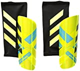 adidas Performance Ghost Pro Shin Guards, Solar Yellow/Bright Yellow/Energy Blue, Large