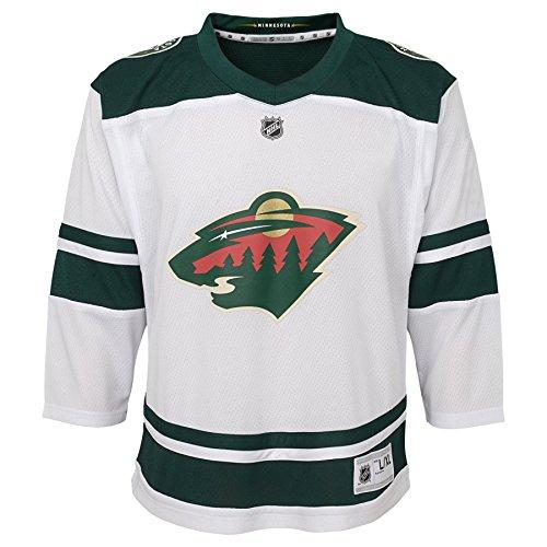 Outerstuff NHL NHL Minnesota Wild Kids & Youth Boys Replica Jersey-Away, White, Youth ()