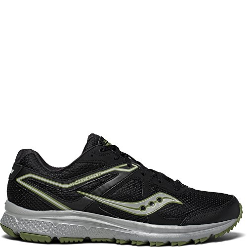 Saucony Men's Cohesion TR11 Running Shoe, Black/Green, 11 Medium - Saucony Black Shoes Mens