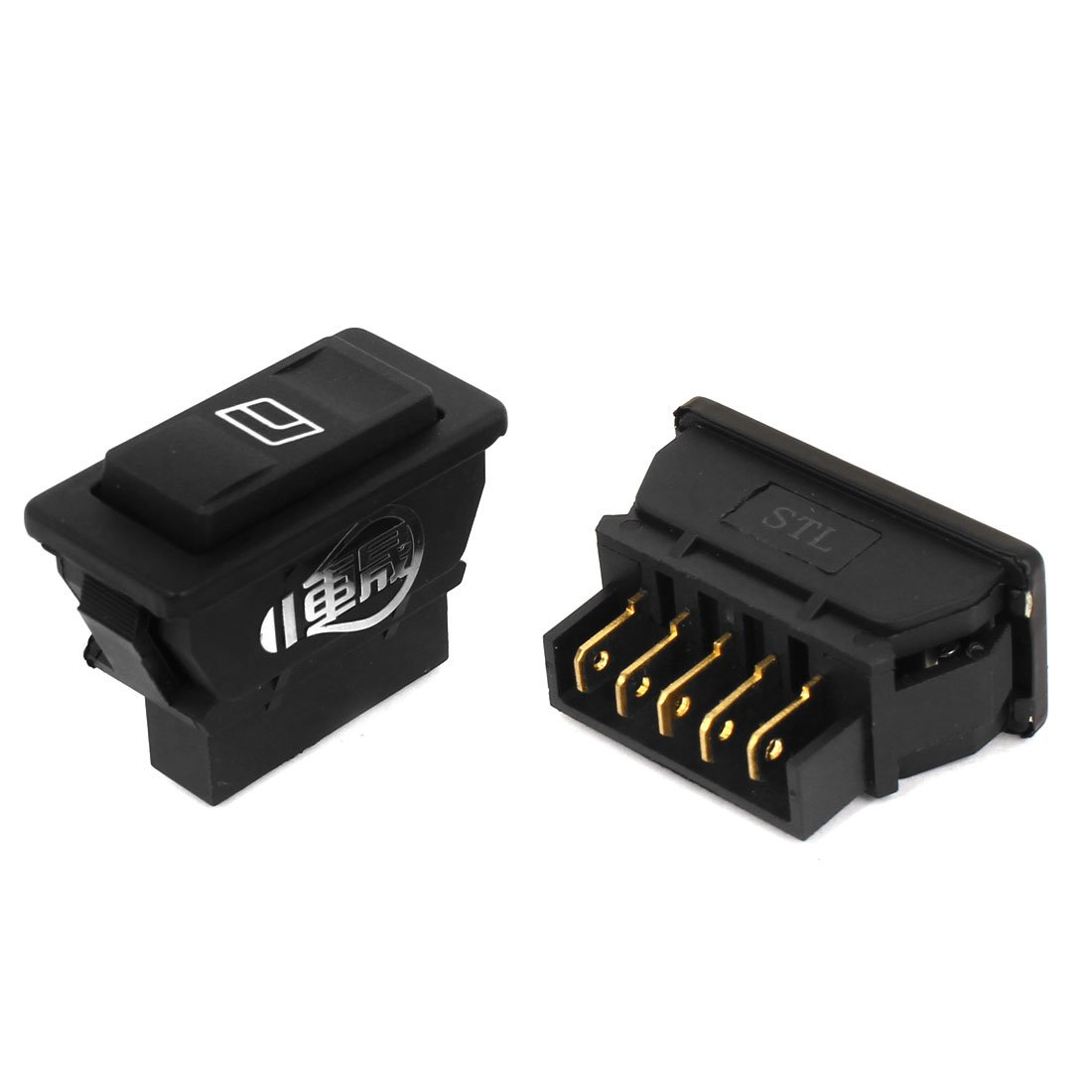 2pcs 5 Pins Power Window Door Lock Rocker Switches Relay 24v Pin Bosch Automotive