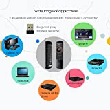 Rii K25 Multifunction Portable 2.4GHz Mini Wireless Fly Mouse Keyboard and Infrared Remote Control with Rechargeable Li-ion Battery (Black)