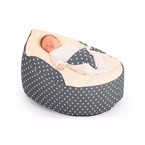 Luxury Cuddle Soft Stars Gaga Baby Bean bags