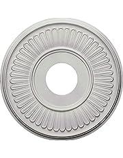 "Ceiling Medallion, 15-3/4"" OD x 3-15/16"" ID x 1-13/16"" P, Round, Polyurethane, Factory Primed - DHCM-04"