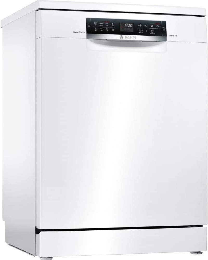 Bosch Serie 6 SMS68TW03E lavavajilla Independiente 14 cubiertos A+++ - Lavavajillas (Independiente, Tamaño completo (60 cm), Blanco, Blanco, Sensor, 1,75 m)