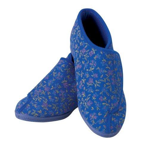 Patterson Medical Damen Slipper, gemustert, Gr. 38, Blau