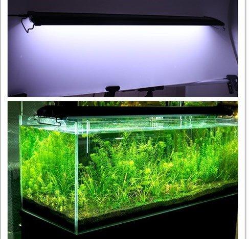 Adjustable 78 led aquarium hood lighting fish tank for Fish tank hood