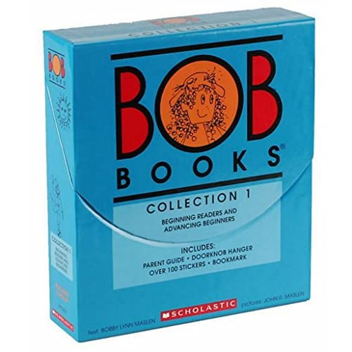 New BOB Books COLLECTION 1 Box Set (BEGINNING READER AND ADVANCING BEGINNERS)