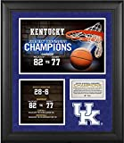 """Each piece comes designed with a collage of high-quality image, a team logo, their record and conference record, and is framed in black wood. It measures 20"""" x 24"""" x 1"""" and is ready to hang in any home or office. The product is officially lic..."""