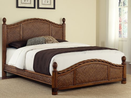 (Marco Island Cinnamon Queen Bed by Home Styles)