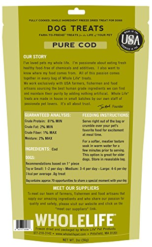 Whole-Life-Pet-Single-Ingredient-USA-Freeze-Dried-Cod-Filet-Treats-for-Dogs-2-Ounce
