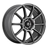 "Konig RUNLITE Matte Grey Wheel (18x8""/5x108mm, +45mm offset)"