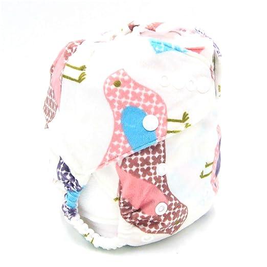 Pañal para bebé Paño impermeable a prueba de agua Paño para bebés Unisex Pañales reutilizables para bebés 1PC: Amazon.es: Bebé