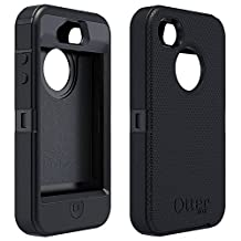 OtterBox Defender Series Case & Holster for Apple iPhone 4/4S Retail Packaging - Black
