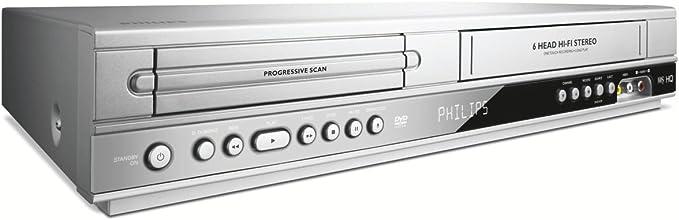 Philips Dvp 3350 V 02 Dvd Player Video Rekorder Kombination Divx Zertifiziert Silber Heimkino Tv Video