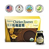Healthee Chicken Essence Extract Drink, Premium Brand and Organic, Original flavor, Glass Bottle, 2.36 Ounces (70 ml) - Pack of 6 - 有機雞精