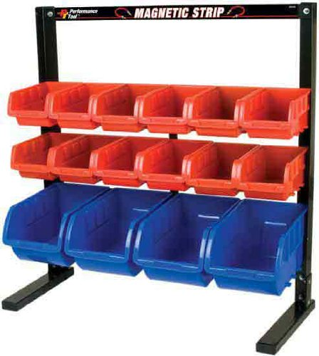Performance Tool W5185 Bin Table Top Storage Rack - Bin Tabletop