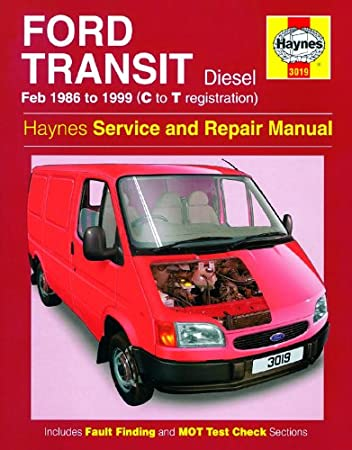 ford transit repair manual haynes manual service manual workshop rh amazon co uk Ford Tourneo Custom Ford Focus