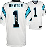 Cam Newton Carolina Panthers Autographed Nike Elite White Jersey - Fanatics Authentic Certified - Autographed NFL Jerseys