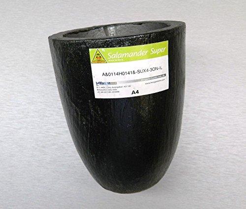 a4-salamander-clay-graphite-crucibles-melting-crucible-super-a-4-melt-brass-gold-lz-23-fre-noveltool