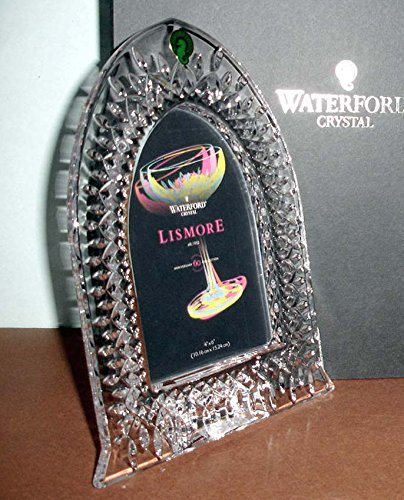 Waterford Lismore Crystal Picture Frame Cathedral Window 4''x6'' #156232 New In Box