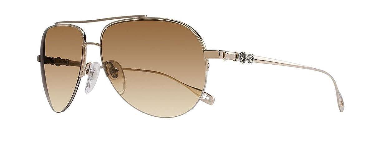 98cb9cf48d92 Amazon.com  Chrome Hearts - Stains - Sunglasses (White Gold ...