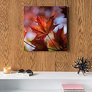 Leaf MDF Wall Art 30x30 Centimeter