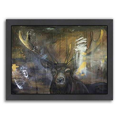Americanflat Black Frame Print - Camouflage - Laura D Zajac