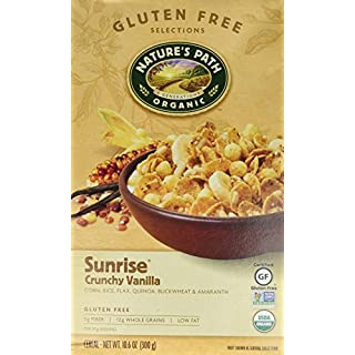 Nature's Path Organic Sunrise Cereal - Crunchy Vanilla 10.6 oz Pkg by Nature's Path