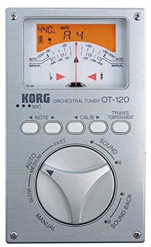 2014 Korg OT120 Chromatic Orchestral Tuner (Tuner Chromatic Orchestral)