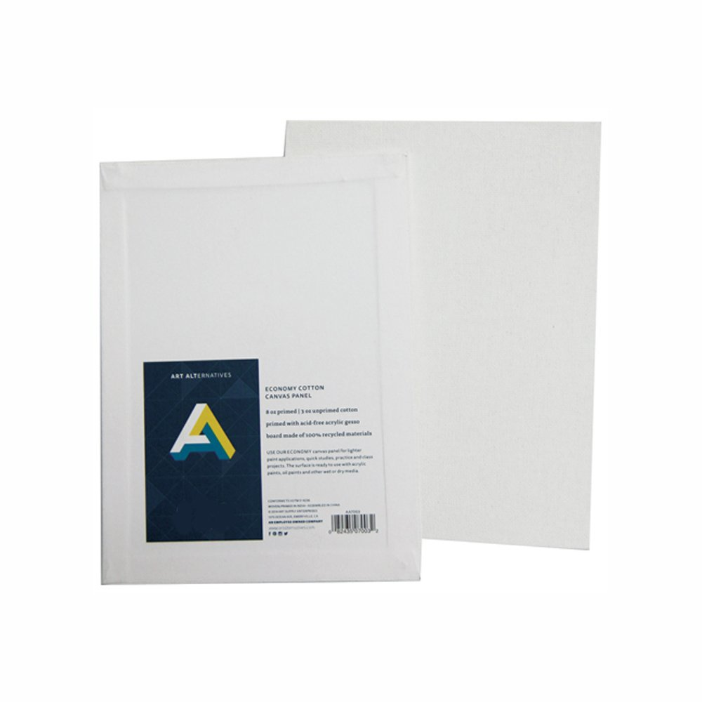 Canvas panels 12 x 12 inch (pack of 12) Art Alternatives AA7010
