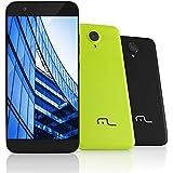 """Smartphone MS 50 4G Câmera 8 MP + 5 MP Quad Core 1GB RAM, Multilaser, NB236, 8GB, 5"""", Preto"""