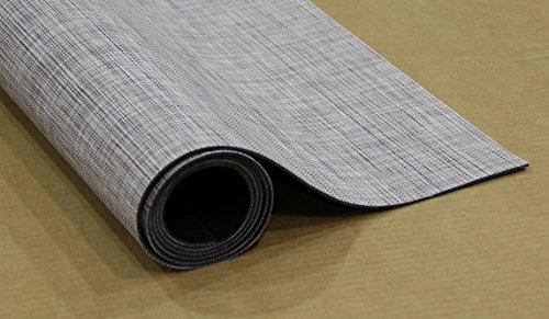 Euro Flor Area Rug Woven Vinyl Floor Mat (Slate, 4' 6