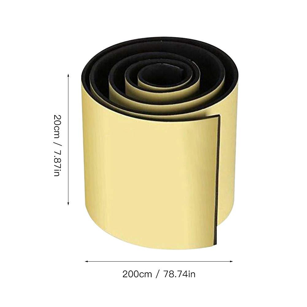 0.6 cm Noir 20 housesweet Protections de Bord de porti/ère de Voiture en Caoutchouc pour Garage 200