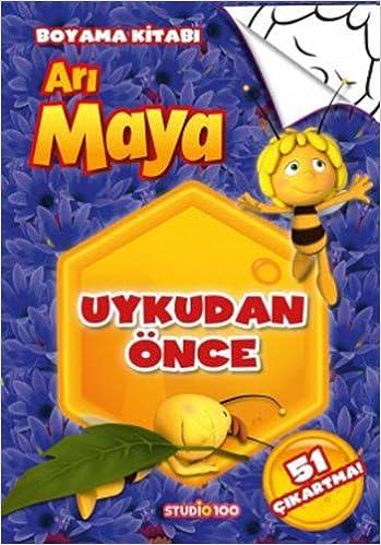 Uykudan Once Ari Maya Boyama Kitabi Collective 9786050934403